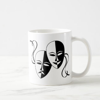 Theater Masks Coffee Mug