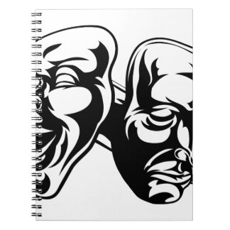 Theater Masks Note Books