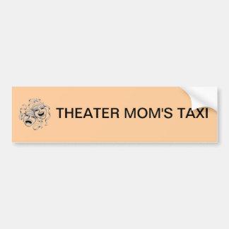 Theater Mom's Taxi Bumper Sticker