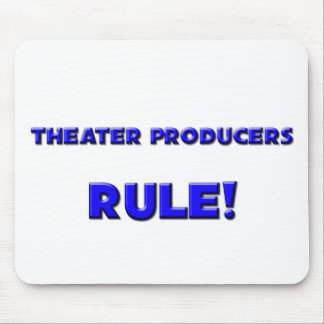 Theater Producers Rule! Mouse Pad