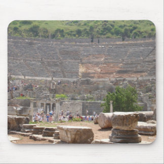 Theatre At Ephesus Mouse Pad