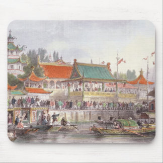 Theatre at Tien-Sing, from 'China in a Series of V Mouse Pad