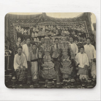 Theatre company, Burma, c.1910 Mouse Pad