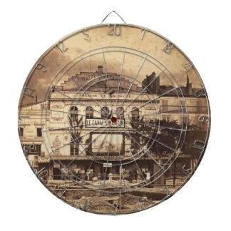 Théâtre de la Gaîté Boulevard du Temple Paris 1855 Dartboard