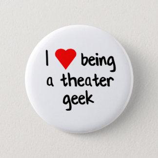 Theatre Geek Love 6 Cm Round Badge