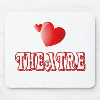 Theatre Hearts Mousepads