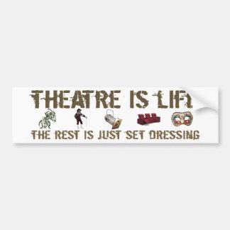 Theatre is Life Bumper Stickers