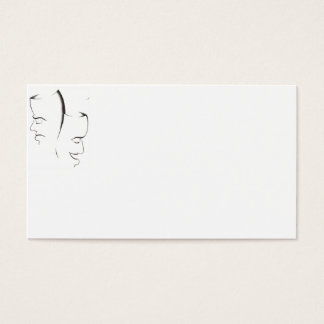 Theatre Mask Business Cards