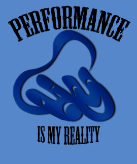 Theatre Mask Performance Reality Blue T-shirt