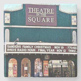 Theatre On The Square, Marietta, Ga. Marble Stone Stone Coaster