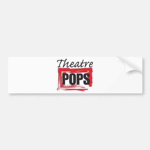 Theatre Pops goodies Bumper Sticker