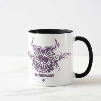 Theatre Purple Mug