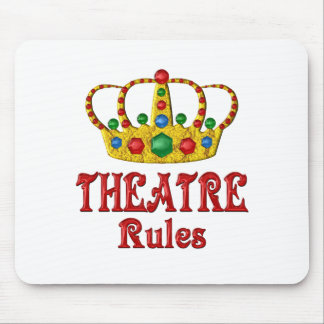 THEATRE RULES MOUSEPADS