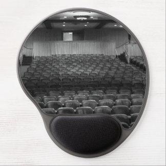 Theatre Seats Black White Gel Mousepad