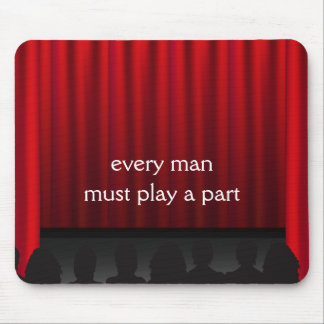 Theatre Stage Curtains Mousepad
