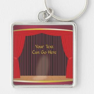 Theatre Stage Keychain
