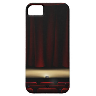 Theatre Stage with Theater Curtains Case For The iPhone 5