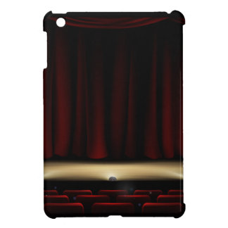 Theatre Stage with Theater Curtains Cover For The iPad Mini