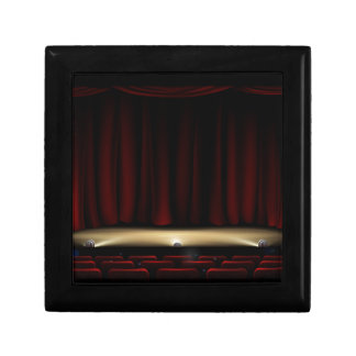 Theatre Stage with Theater Curtains Gift Box