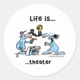 Theatre Stickers