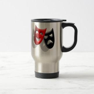 Theatrical Masks Travel Mug