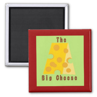 thebigcheese square magnet