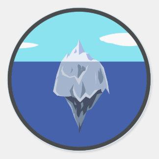 thechillmethod logo classic round sticker
