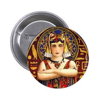 Theda Bara as Cleopatra Vintage Movie 6 Cm Round Badge