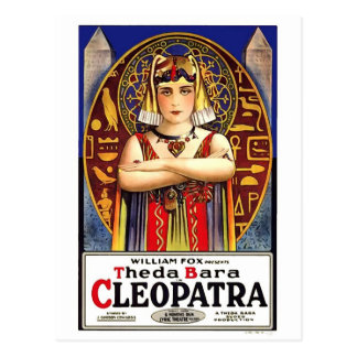 Theda Bara as Cleopatra Vintage Movie Postcard