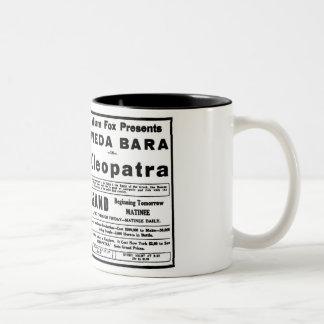 Theda Bara Cleopatra 1918 Two-Tone Coffee Mug