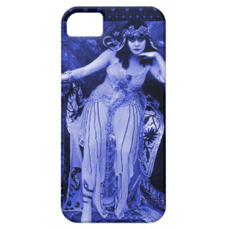 Theda Bara Cleopatra iPhone 5 Case Indigo Black