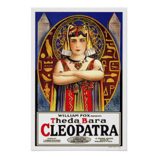 Theda Bara Cleopatra Movie Poster