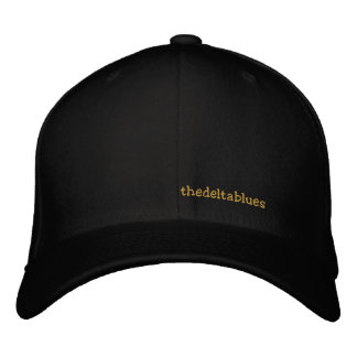 thedeltablues embroidered hat