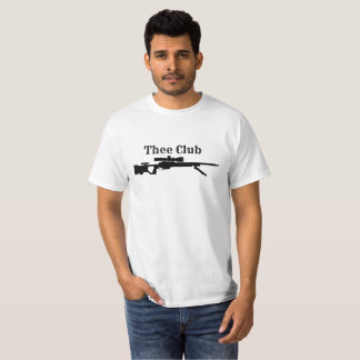 thee club deer and rifle T-Shirt