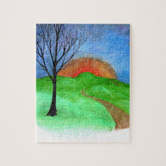 """""""Thee Hills"""" Jigsaw Puzzle"""