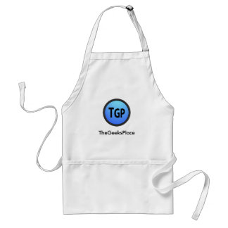 TheGeeksPlace Logo With Text Standard Apron