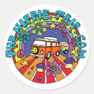 TheHippieTrip.com Classic Round Sticker