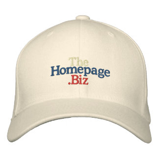 TheHomepage.Biz Whitish Hat Embroidered Hats