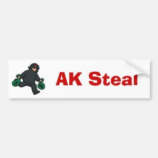 theif, AK, AK Steal bumper sticker