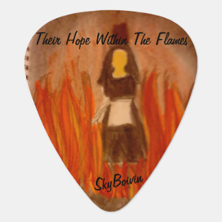 their hope within the flames guitar pick