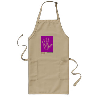 """Their Lives Are In Our Hands"" by Michelle Cox Long Apron"