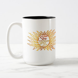 Their Story Becomes Your Lore - Sunburst Two-Tone Coffee Mug