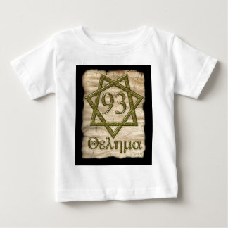 THELEMA STYLE OCCULT DESIGN BABY T-Shirt