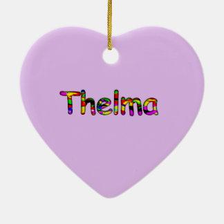 Thelma Christmas Ornaments