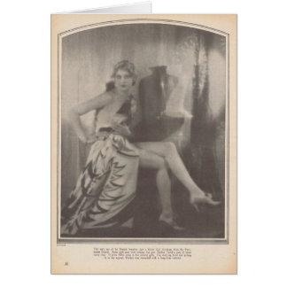 Thelma Todd 1928 Card