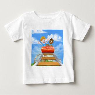 Theme Park Roller Coaster Baby T-Shirt