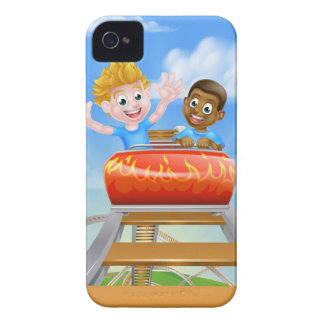 Theme Park Roller Coaster iPhone 4 Covers