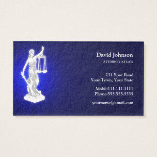 Themis | Blue Business Card