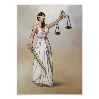 Themis - Lady Justice Poster