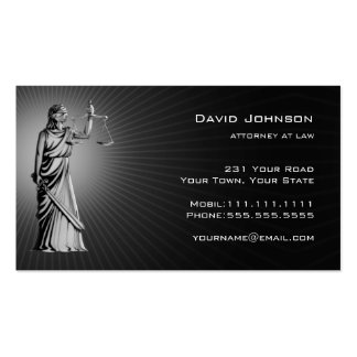 Themis | Lawyers Pack Of Standard Business Cards